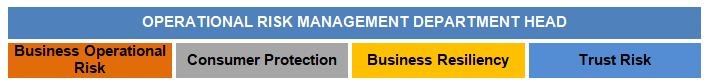 Enterprise Risk Management Operational Risk Division Head